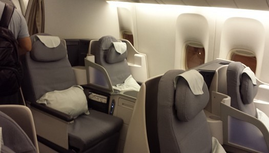 Gallery | Air China Business Class 777-300