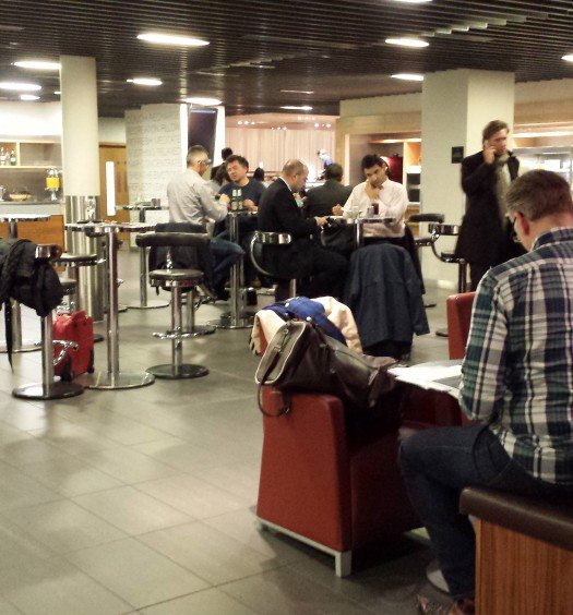 London Heathrow Star Alliance Business Lounge