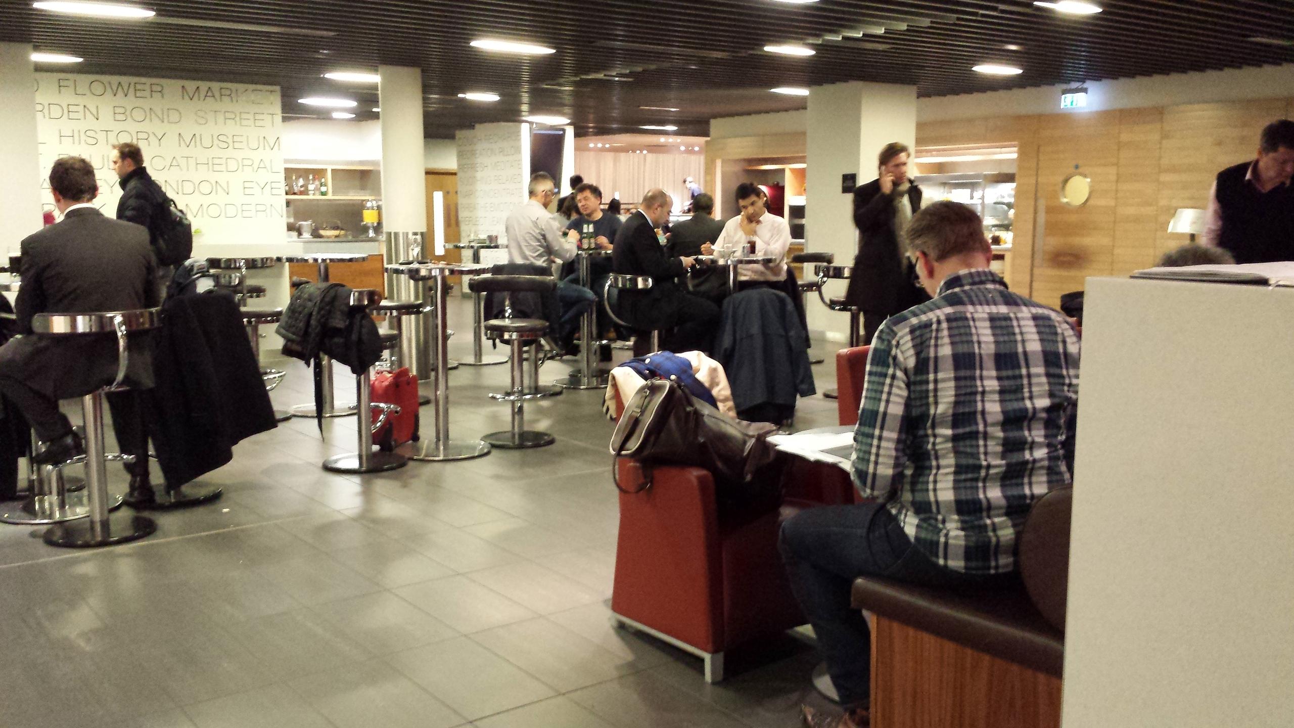 London Heathrow Star Alliance Business Lounge