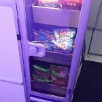 JetBlue self-serve snacks.