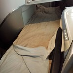 Flatbed Seat on Air France