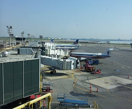 View from United Club LaGuardia.