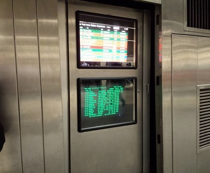 Penn Station Mezzanine