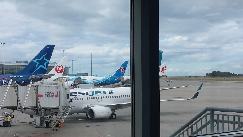 Pre-Flight at YVR.