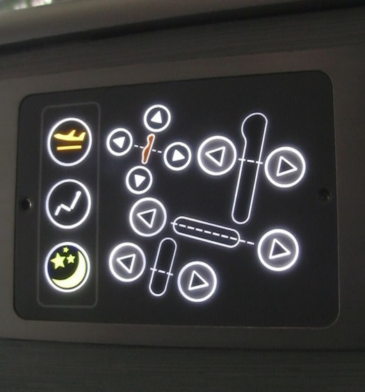 Business Class Seat Control