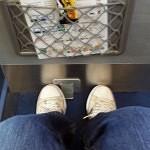 Lufthansa Cityline business Class.