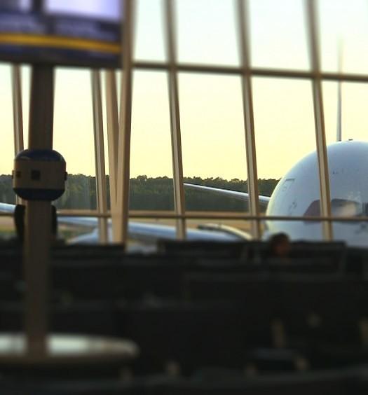 United 789 Dreamliner at IAH