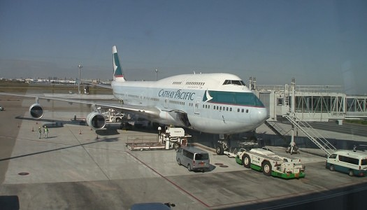 Video | Cathay Pacific 747-400 – First Class Seat 2K