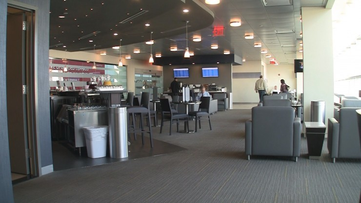 American Airlines Admirals Club at LaGuardia Airport