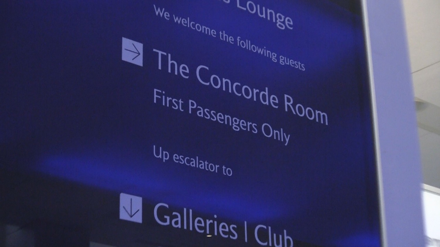 British Airways Concorde Room Heathrow