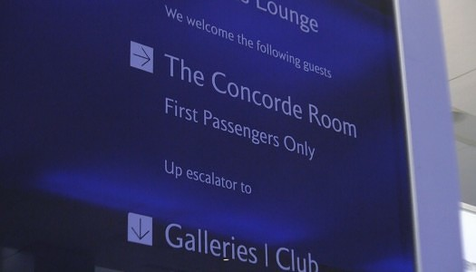British Airways Concorde Room Heathrow (LHR)| Video