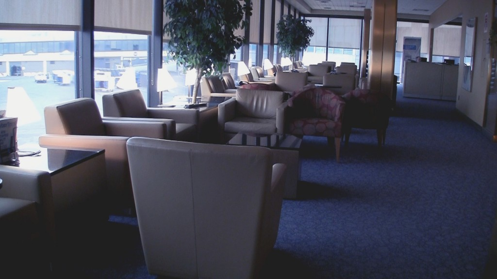 American Airlines Admirals Club Newark Lounge