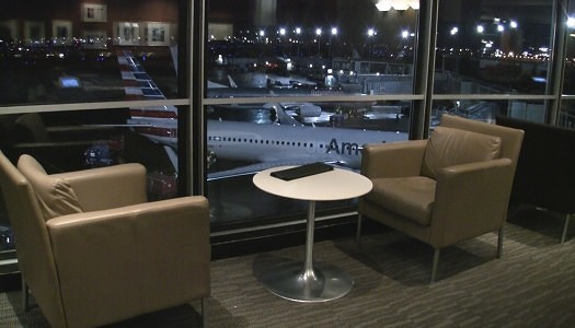 American Airlines Admirals Club Chicago (ORD) H/K Gates | Video