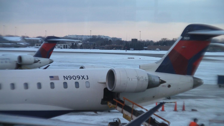 Delta Air Lines Comfort Plus CRJ-900.