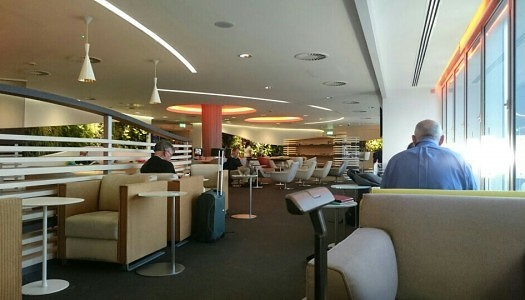 London Heathrow SkyTeam Alliance Lounge | Video