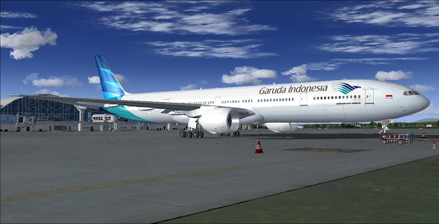 Garuda Indonesia Business Class 777-300