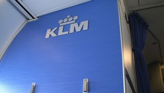 KLM Business Class Review 737-800 | Video