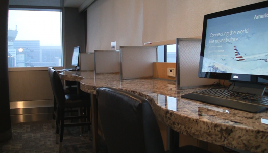 American Admirals Club JFK at C Gates | Video