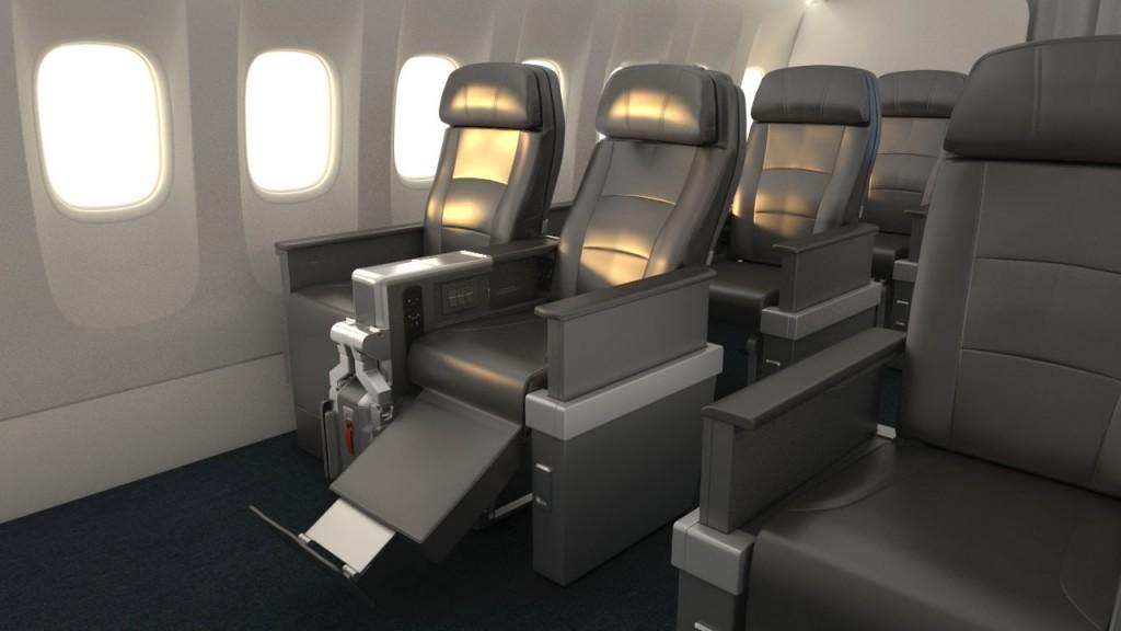 American Airlines Premium Economy Seating