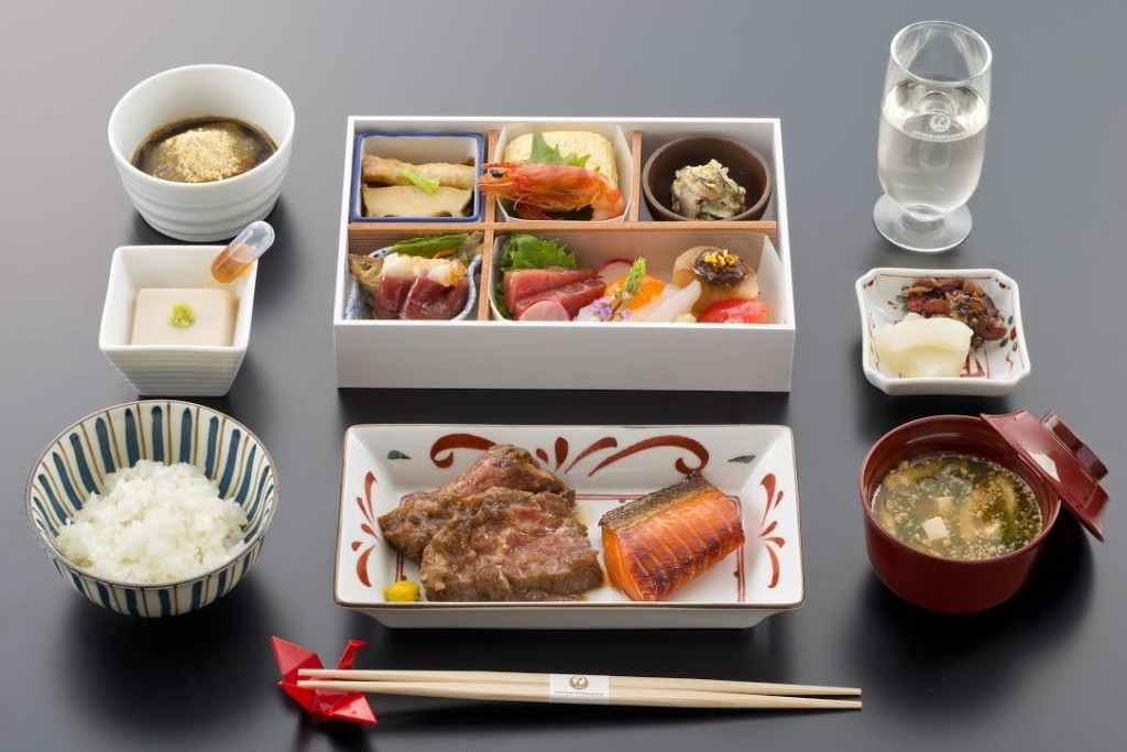 Chef Jun Kurogi inspired Japan Airlines Business Class Meal