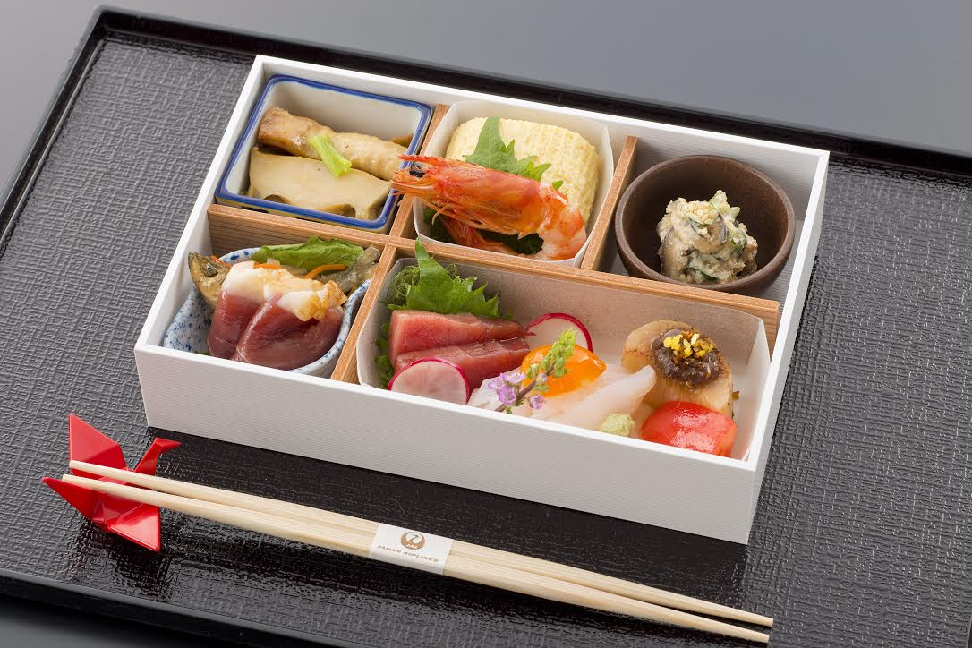 Japan Airlines Business Class Appetizer Course