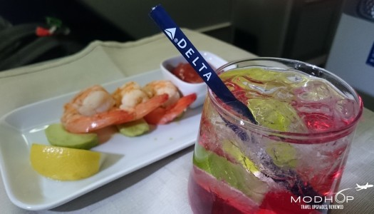 Delta One Business Class on a 767-300 in Pictures