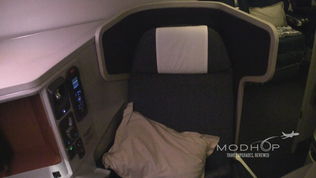 Our Cathay Pacific Business Class review shows off the seat's custom features.