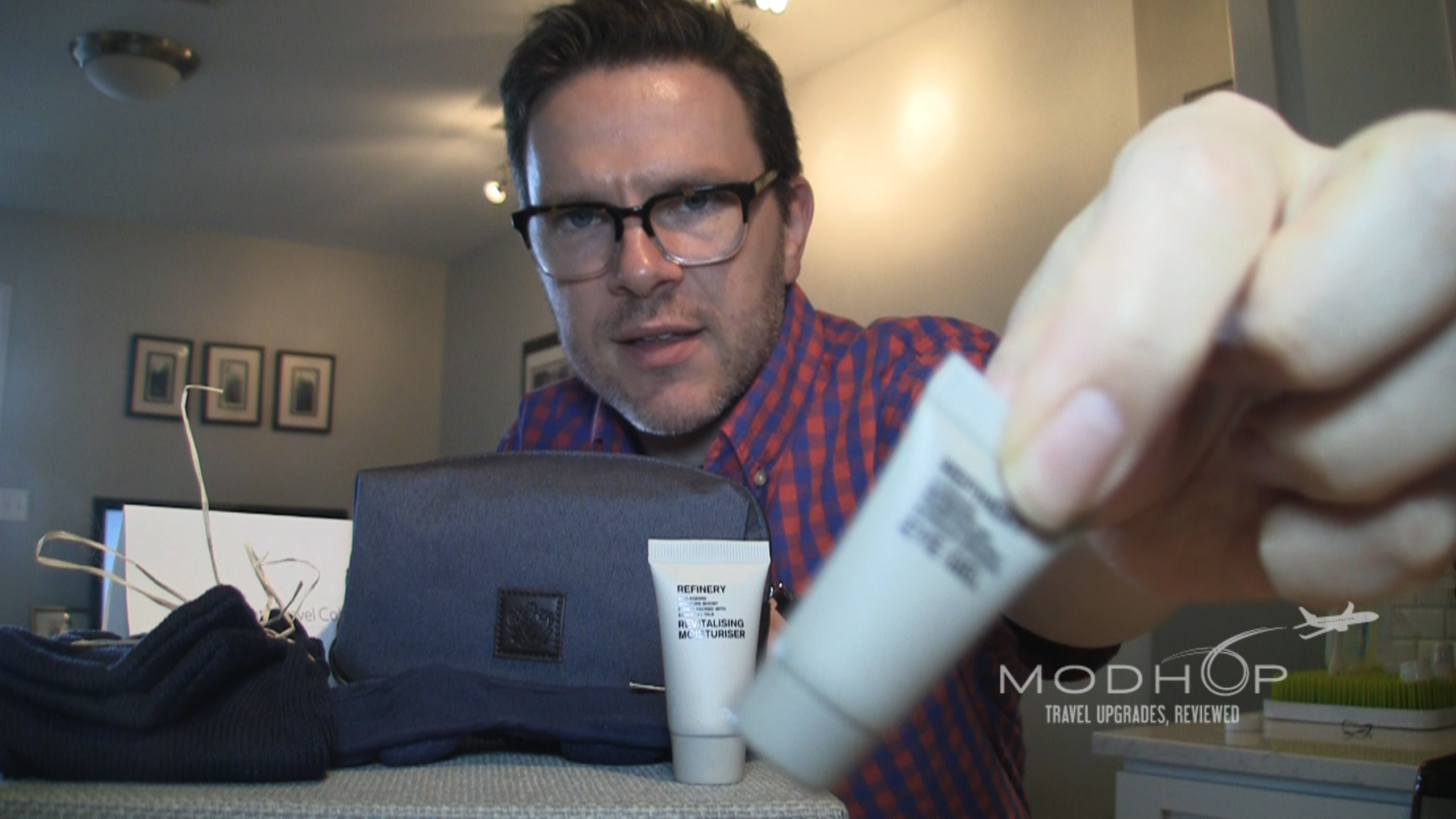 BA Amenity Kit presented blurrily by Jake Redman