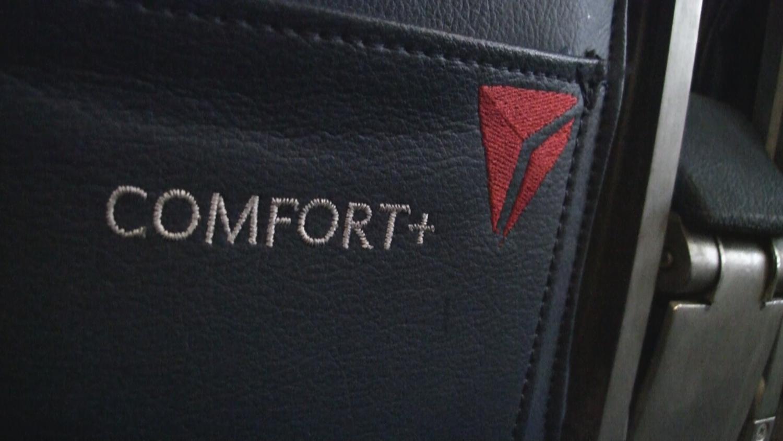Delta 757 seating in Comfort plus.