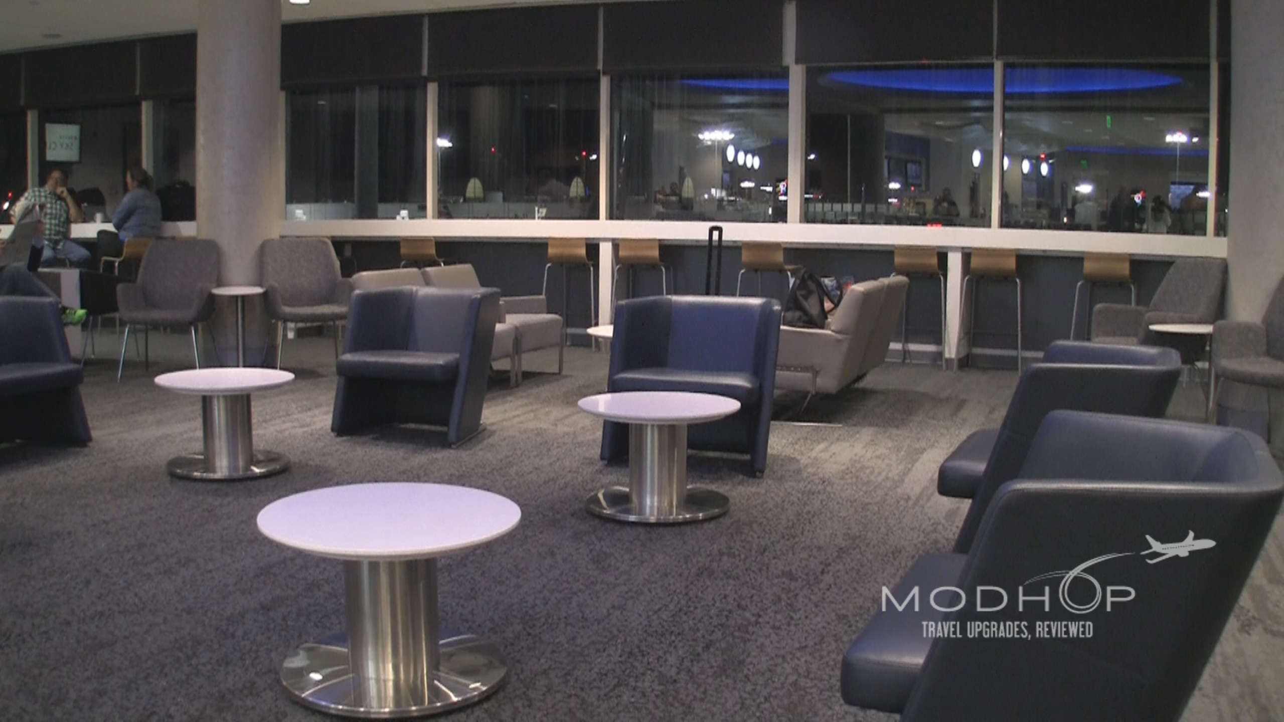 Delta Sky Club LAX seating