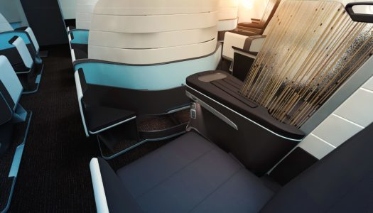 First Look: Hawaiian Airlines Lie Flat Seats on the A330