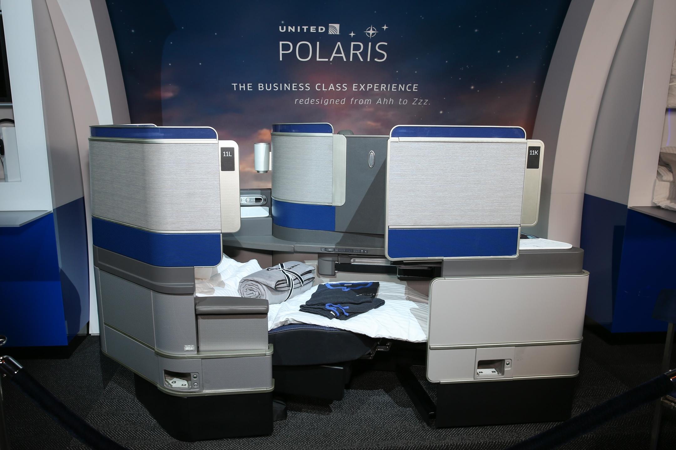 Polaris - mew United Business Class Seats
