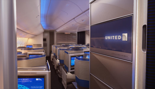Meeting Polaris. New United Business Class, Part 1: The Seat.