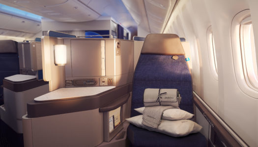 Meeting Polaris. New United Business Class, Part 3: Food, Service + Amenities.