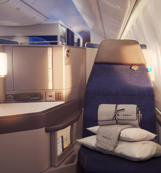 Polaris by United Business Class.