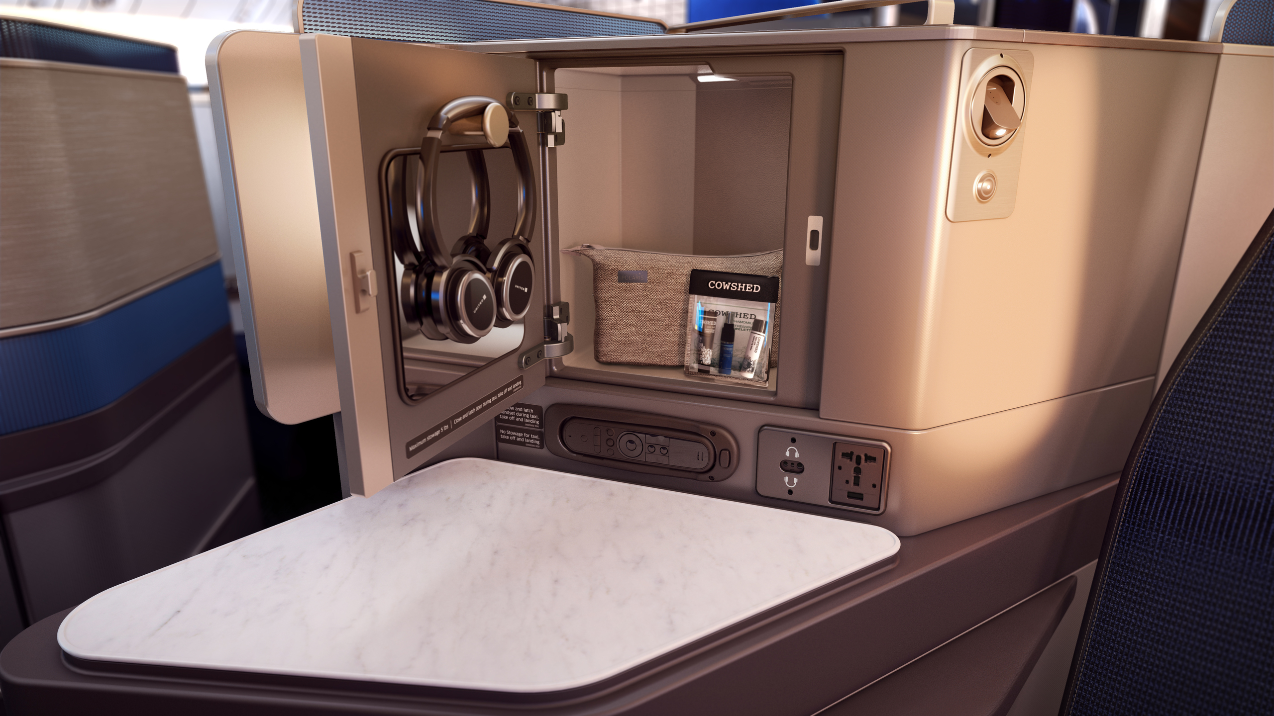 United Business Class Seats
