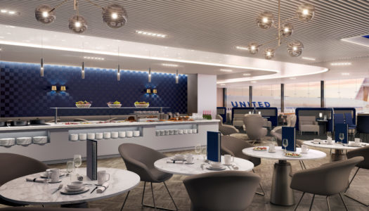 Meeting Polaris. New United Business Class, Part 2: The Lounge.
