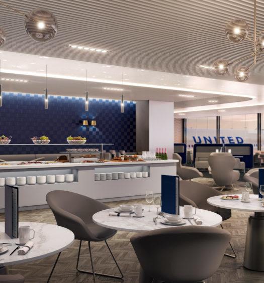 United Polaris Lounge