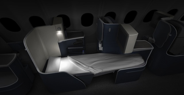 TAP Airlines Business Class Bed