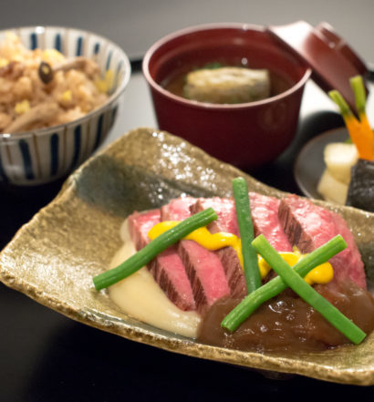 First Class Japan Airlines food from LHR-HND for Fall 2016