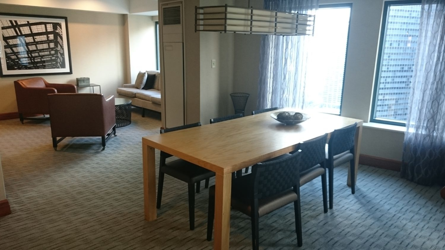 Sheraton Grand Chicago Club Lounge Interior