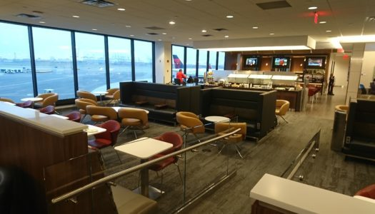 Odd and Pleasant Surprises Inside the Newark Delta Sky Club.