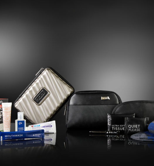 Delta Tumi Amenity Kit