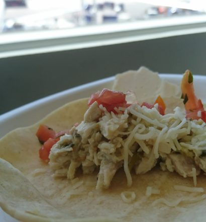 Soft taco, I think. Delta Sky Club at LAX.