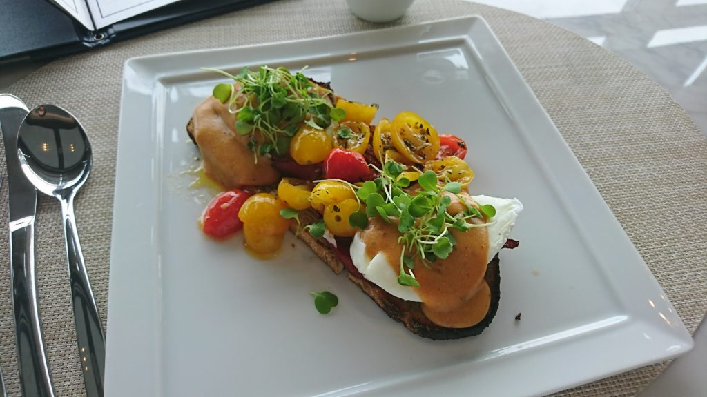 Eggs Bennedict with Duck
