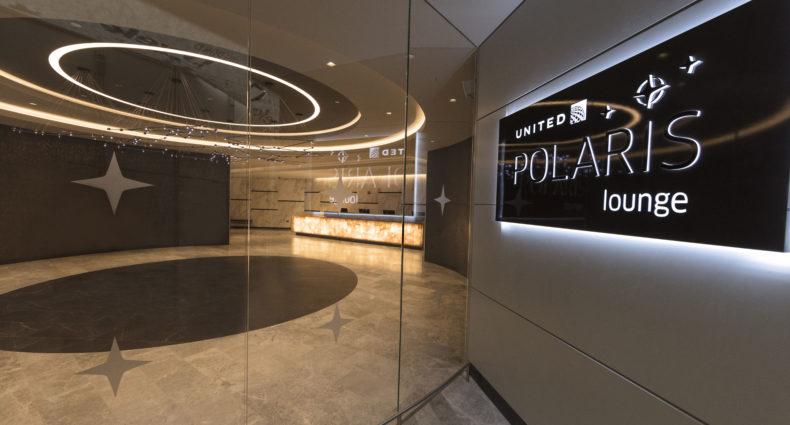 United EWR Polaris Lounge