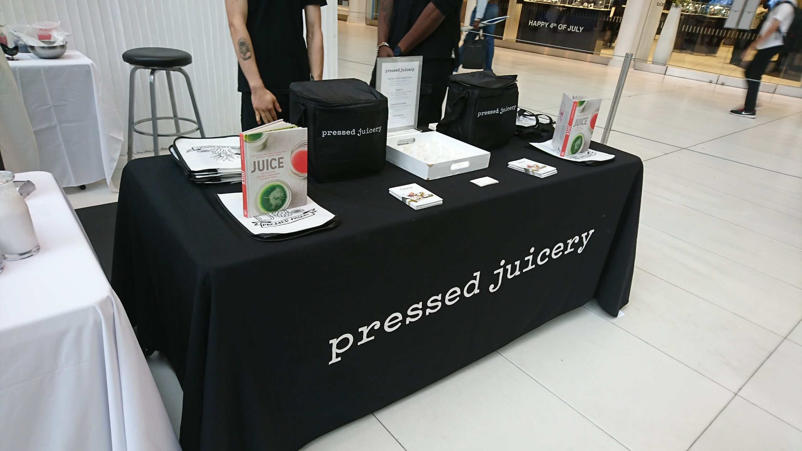 Pressed Juicery and Hyatt