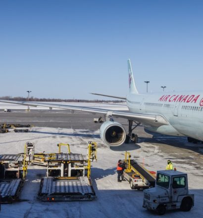 Air Canada Plane at gate