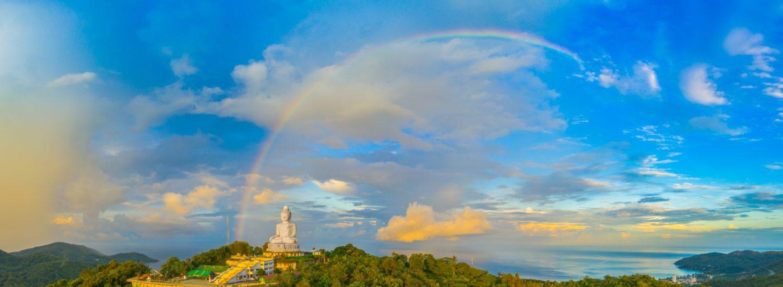 Rainbow over Phuket, Thailand