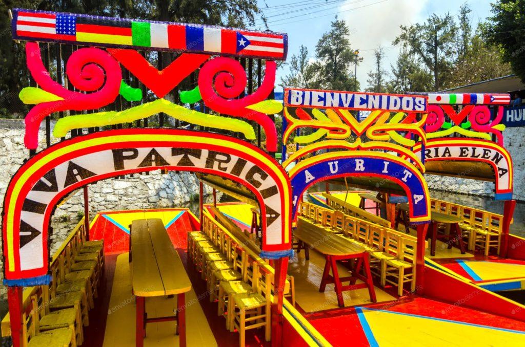 Xochimilco Boats.